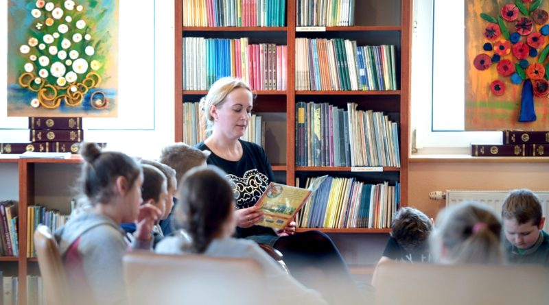 O książkach, bibliotece i dobrym zachowaniu