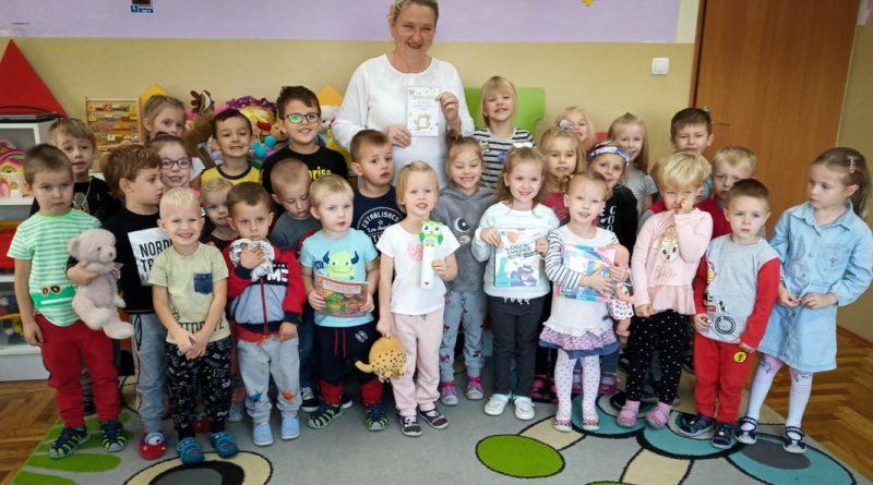 Biblioteka w Marcinkowicach. Promocja czytelnictwa wśród przedszkolaków