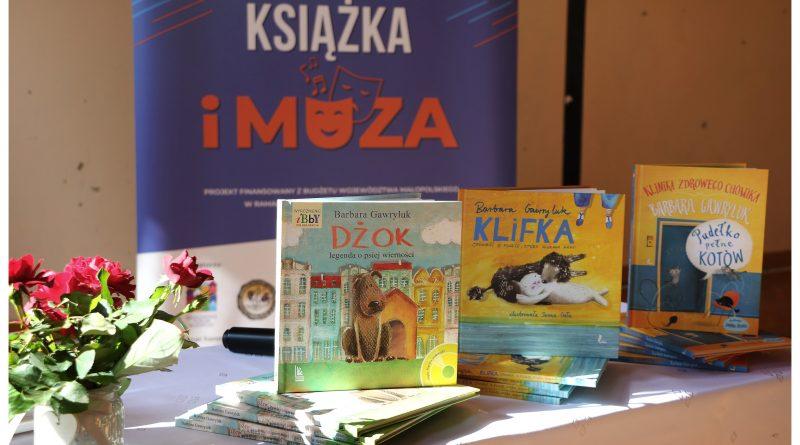 Spotkanie z autorką książek, dziennikarką – Barbarą Gawryluk